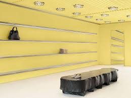 Hollywood Interior Designers Delectable Acne Studios Creates Very Yellow Interior For West Hollywood Store