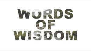 041 Words Of Wisdom The Table Community