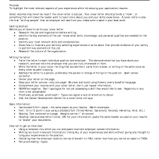 Cover Letter For Career Change Experience Resumes