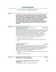 Nursery School Teacher Resume Sample Elementary Teacher Resume