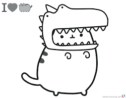 Coloring Pages Pusheen Coloring Pages Donut Games Movie New Free