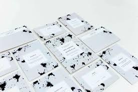 Black And White Invitation Paper 10 Chic Minimalist Wedding Invitations