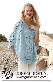 <b>Blue</b> breeze / DROPS 145-18 - Free <b>knitting</b> patterns by DROPS ...