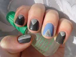 hey look at my nails st patty s day mani gelous advanced nail gel coat