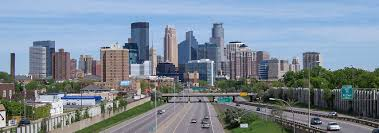 google map of the city of minneapolis minnesota usa  nations