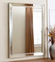 Wall mirrors Contemporary Ariel Rectangle Wall Mirror Abbyson Mirrors