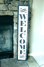 outdoor metal welcome signs welcome signs for homes outdoor metal welcome
