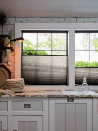 diy kitchen window treatment ideas
