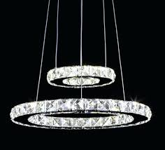 chandeliers aliexpresscom modern crystal pendant lighting round led crystal re light lamp fixture res