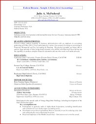 Elegant Accounting Student Resume Objective Mailing Format
