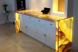 backlit onyx countertop led light panel