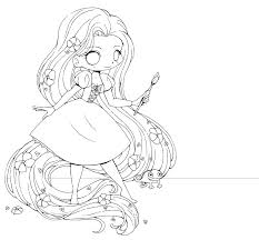Coloring Pages Anime Chibi For Girls Free Girl New Adults Remarkable