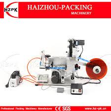 HZPK Semi automatic Flat Labeling <b>Machine</b> With Label Printer For ...