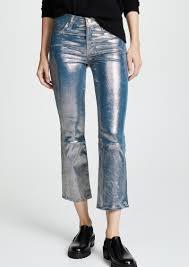 j brand selena crop bootcut leather pants