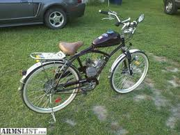 armslist for sale trade motorized beach cruiser bicycle