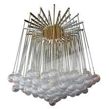 glass bubble chandelier lighting. Italian 1970s Brass Bubble Chandelier With Glass Balls On Chains For Sale At 1stdibs Lighting