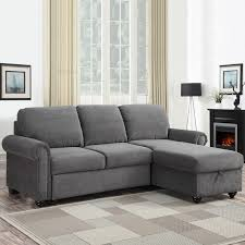newton chaise fabric sofa bed with