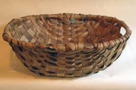woven wood basket. Wonderful Wood Woven Split Wood Basketry Spale Basket Sideview Hope MacDougall  Collection To Wood Basket L