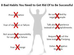 bad habits you need to get rid of to be successful jose cid 8 bad habits you need to get rid of to be successful jose cid mba pulse linkedin