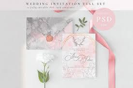 Wedding Invitation Cards Full Set Design Cuts