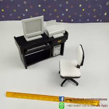 where to buy miniature furniture. Fine Furniture Wholesale 112 Scale Miniature Office Set4 Wooden Dolls House Furniture And Where To Buy