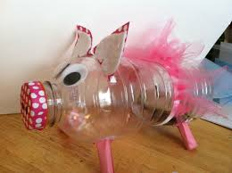 Diy Alkansya Design We Made This Cute Piggy Bank With A Gatorade Bottle Vbs