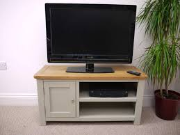 Aspen Painted Oak Sage Grey Small TV Unit