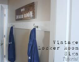 Dirt Stains And Paint Boys Locker Room A Tutorial - Bathroom locker