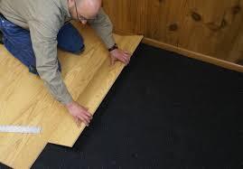 Hardwood Flooring Underlayment | Wood Floor Glue With Moisture Barrier |  Cork Underlayment