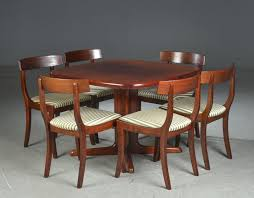 gany dining chairs by skovby 1972 set of 6