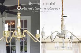 transform an outdated brass chandelier with chalk paint maisondepax com