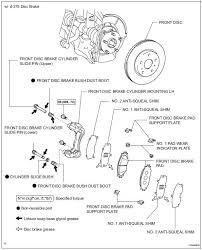 Toyota Rav4 Service Manual Front Brake Brake