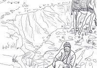 Good Samaritan Coloring Page With Good Samaritan Parable Coloring