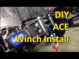 how to install a winch on a polaris ace how to install a winch on a polaris ace