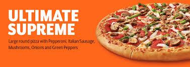 Ultimate Supreme Pizza Little Caesars Pizza