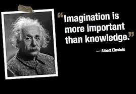 Albert Einstein Quote: Imagination | Randumbuzz.com via Relatably.com