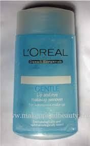loreal gentle lip eye makeup remover