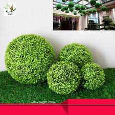 Decorative Boxwood Balls UVG Manufacturer Supply Hanging Dcorative Artificial Boxwood Ball 2