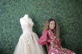 Houston Fashion Designers Houston Fashion Designer Learned Her Trade From Unusual