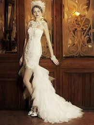 short wedding dresses long train the hairs gallery