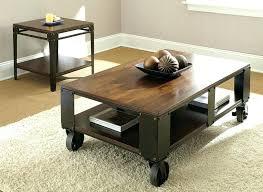 coffee table wheels coffee table with wheels and storage factory cart coffee table wheels industrial coffee