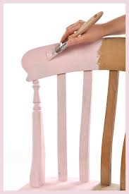 eco chic furniture. Painting A Chair - Applying Rosie Posie Eco Chic Claypaint With Border Furniture L