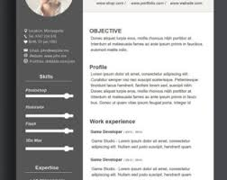 Custom Resume Template ,Word Resume Template, CV Template, Photoshop Resume  Template ,Ai