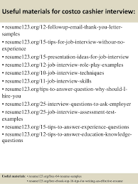costco resume