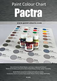 Pactra Paint Chart Paint Colour Chart Pactra 20mm