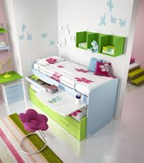 White And Green Bunk Bed For Girls By Domus Arredi In Brilliant Awesome Teen  Beds