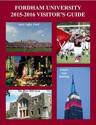 Fordham University Visitor S Guide Pdf