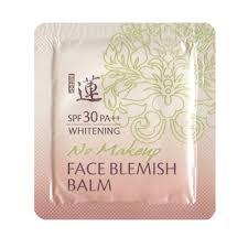 welcos no makeup whitening face blemish balm spf30 เวสคอสบ บ คร ม