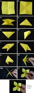 Easy Paper Origami Flower Origami Buttonhole Flowers