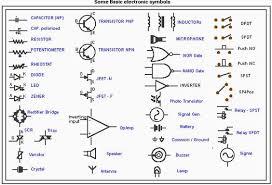 55 Specific Schematic Symbols Chart Pltw
